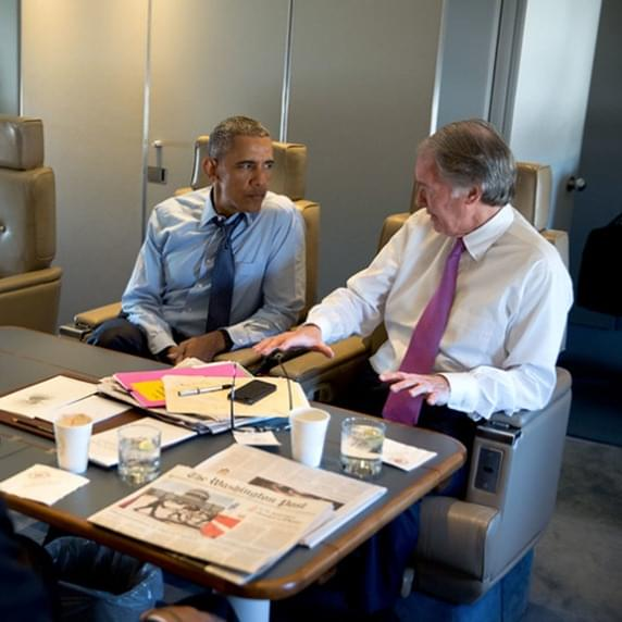 Markey with Obama