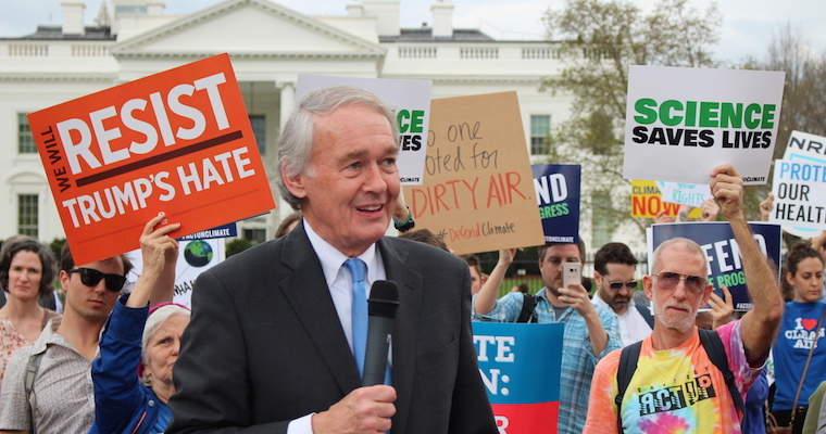 Markey: Trump Executive Order Is Declaration of War on Climate Action, Public Health and Clean Energy