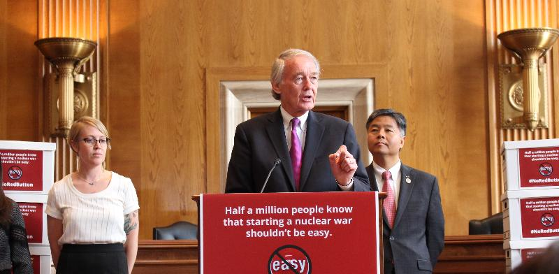 Senator Markey on North Korea & the Restricting First Use of Nuclear Weapons Act