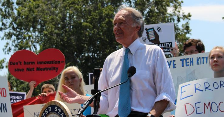 Senator Markey Statement on FCC Vote to Roll Back Net Neutrality Rules